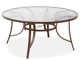 round patio table tempered shower glass top dining tables home