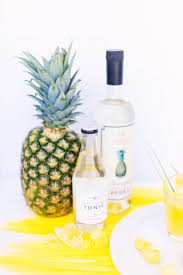 vodka tonic summer cocktails pineapple vodka tonic u2022