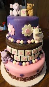 custom baby shower cakes tier baby shower cake custom cakes