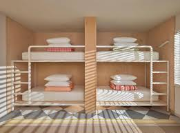 Hostel Bunk Beds At Fancy Hostels Business Travelers Are Replacing Backpackers