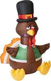 gemmy airblown original turkey indoor
