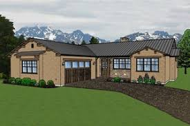 southwestern house plans houseplans com