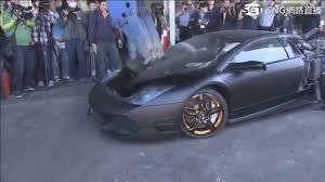 Lamborghini Murcielago 2016 - lamborghini murcielago destroyed in taiwan for illegal importation