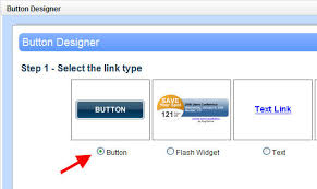 button designer design a button link to your form