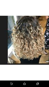 getting hair curled and color best 25 curly hair salon ideas on pinterest short curly bob