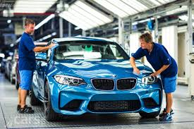 bmw factory assembly line bmw m2 production gets underway in leipzig cars uk