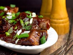 slow cooker brown sugar country style pork ribs the midnight baker