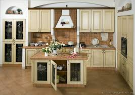 Ideas For Painting Kitchen Cabinets Pictures Of Kitchens Traditional Whitewashed Cabinets