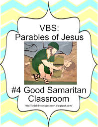bible fun for kids parables of jesus vbs day 4 the good samaritan