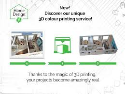 Home Design Ipad Second Floor Home Design 3d 3d Printing Edition On The App Store