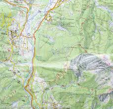 Map Of Central Italy hiking map 9 alpi carniche area carnic alps italy tabacco