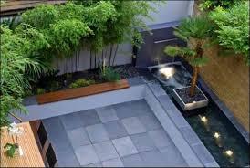 minist backyard modern landscape austin by robert decor ideas