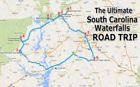 Surprise Arizona Map by The Ultimate South Carolina Waterfalls Road Trip