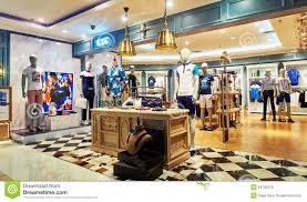 Garment Shop Interior Design Ideas Men Fashion Clothes Store Clothing Shop Editorial Stock Image