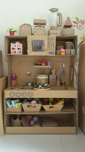 pretend kitchen furniture best 25 cardboard kitchen ideas on kitchen stove diy