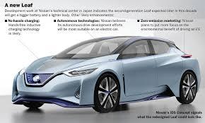nissan sentra jerky acceleration next gen leaf more tech despite low sales