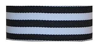 striped grosgrain ribbon grosgrain mono stripe ribbon 1 5 10 yards black