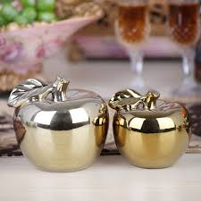 aliexpress buy electroplated ceramic apple ornaments crafts