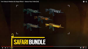 Buy Rainbow Six Siege Gold Why Is The Exclusive Golden Weapon Skin Shown In The Season Pass