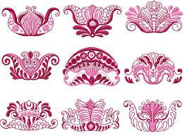 4 hobby machine embroidery designs free vingette machine
