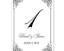 Wedding Place Cards Template Template For Table Numbers Free Wedding Table Printables Popsugar