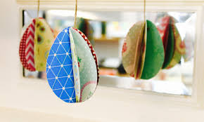 paper easter eggs easy easter craft how to make 3d paper eggs