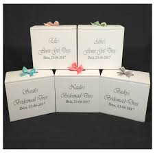 wedding dress travel box wedding dress travel box personalised bridesmaid smaller size