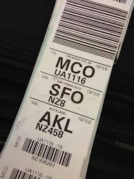 20 united airlines checked luggage the land of the lost