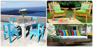 12 diy outdoor patio furniture ideas you are going to love