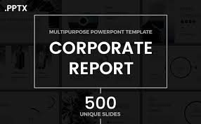 annual report ppt template professional powerpoint templates to use in 2018