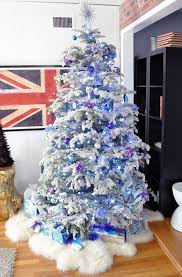 Blue Christmas Decorations Pinterest by 299 Best Blue Christmas Images On Pinterest Blue Christmas