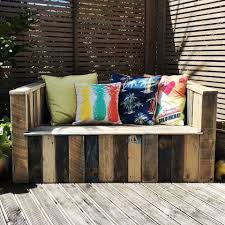 Patio Furniture Made Out Of Wooden Pallets by Outdoor Pallet Bar U0026 Patio Furniture