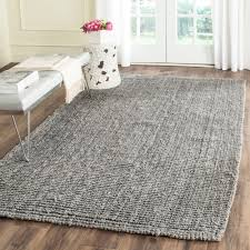 Safavieh Furniture Outlet Store Safavieh Casual Natural Fiber Hand Woven Light Grey Chunky Thick
