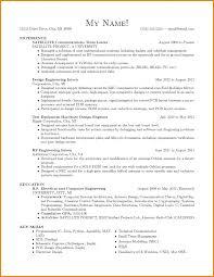 Biomedical Engineer Resume Emc Test Engineer Sample Resume 3 12 Amazing Engineering