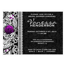 wedding invitations quincy il day of the dead wedding invitations announcements zazzle