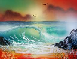 Tips For Spray Painting Waves Waterfalls Underwater Purchase Spray Paint Art Secrets
