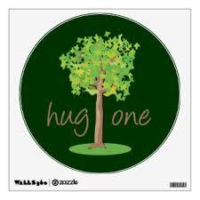hug wall decals wall stickers zazzle
