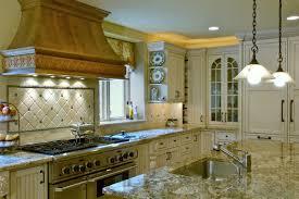 Cream Kitchen Cabinets With Glaze Amazing Cream Colored Kitchen Cabinets With Black 1024x768