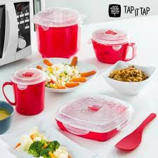 service de cuisine service de cuisine à la vapeur pour micro ondes tap it tap 11