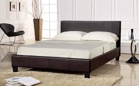 Double Faux Leather Bed Frame by Bedding Best Mattress For Slat Bed Flexible And Platform Afs Prado