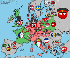 1939 Map Of Europe polandball beginning of ww2 in europe by kensethfan on deviantart