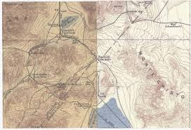 Nevada Map The Great Nevada Meteor Of 1894