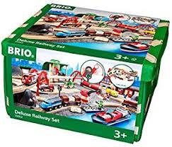amazon black friday toy trains sale amazon com brio 33052 deluxe railway set toys u0026 games