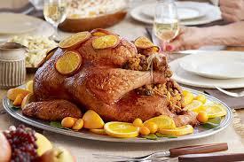 stuffed turkeys picadillo stuffed turkey with orange tamarind sauce kraft recipes
