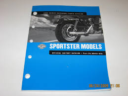 2002 harley davidson service manual sportster models part no