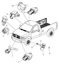 sensors body for 2009 dodge ram 1500 mopar parts giant