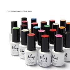 biling uv nail gel the best gel polish 6ml color bottle soak off