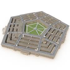 Pentagon Map 3d Pentagon Models Turbosquid