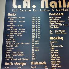 la nails nail salon in woodbridge va 22191