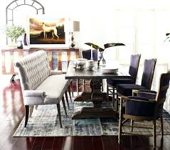 upholstered dining bench seating upholstered dining table bench